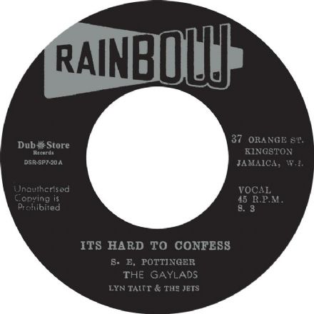 Gaylads - Hard To Confess / I Need Your Loving (Gayfeet / Dub Store Records) JPN 7""